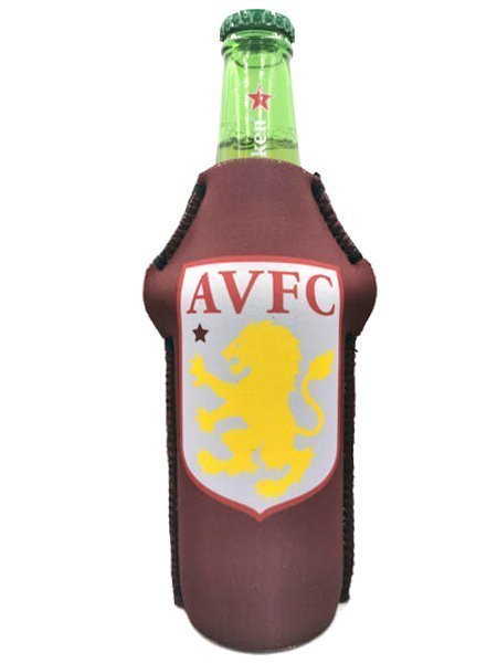 Drink-buddy-olkylare-burk-kylare-Astonvilla-Aston-Villa-bak-back-fotball-PremierLeague-Premier-League-Dryckkylare-Can-Bottle-Drinkcooler