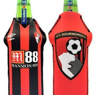 Drink-buddy-olkylare-burk-kylare-Bournemouth-Back-bak-Front-Fram-fotball-PremierLeague-Premier-League-Dryckkylare-Can-Bottle-Drinkcooler
