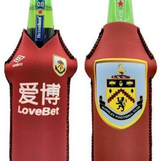 Drink-buddy-olkylare-burk-kylare-Burnley-Back-bak-Front-Fram-fotball-PremierLeague-Premier-League-Dryckkylare-Can-Bottle-Drinkcooler