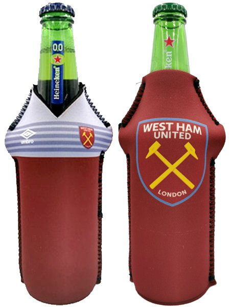 Drink-buddy-olkylare-burk-kylare-Westham-West-Ham-Westhamunited-WesthamUTD-United-UTD-Back-bak-Front-Fram-fotball-PremierLeague-Premier-League-Dryckkylare-Can-Bottle-Drinkcooler