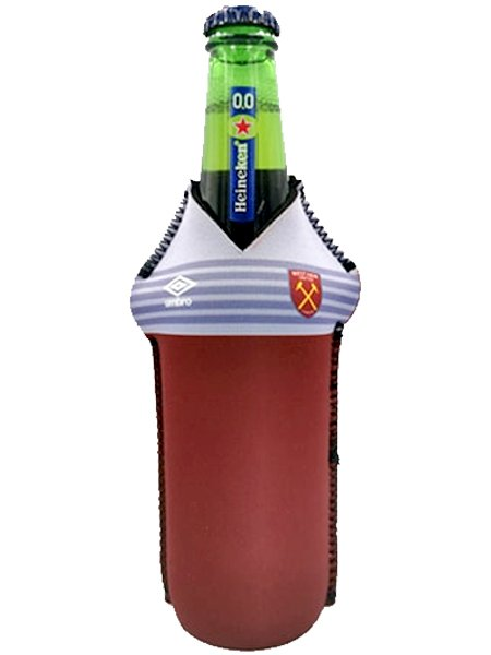 Drink-buddy-olkylare-burk-kylare-Westham-West-Ham-Westhamunited-WesthamUTD-United-UTD-Fram-Front-fotball-PremierLeague-Premier-League-Dryckkylare-Can-Bottle-Drinkcooler