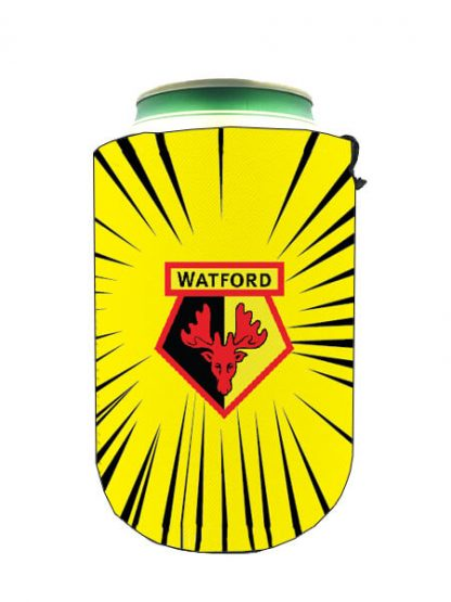 Watford-Burkkylare-Burk-Kylare-Bottle-Cooler-BottleCooler-FlaskKylare-CanCooler-fotball-PremierLeague-Premier-League-Dryckkylare-Can-Bottle-Drinkcooler-Amazada-2